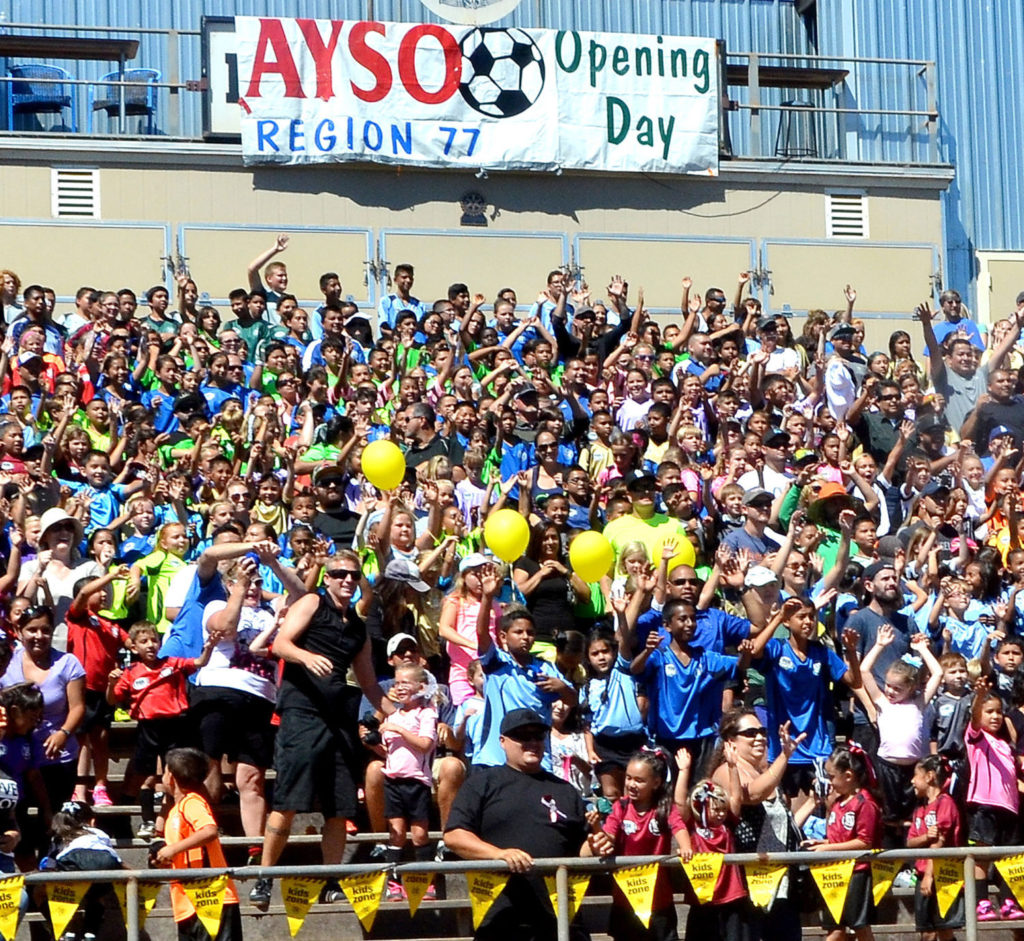 Opening Day Lompoc AYSO, 2015