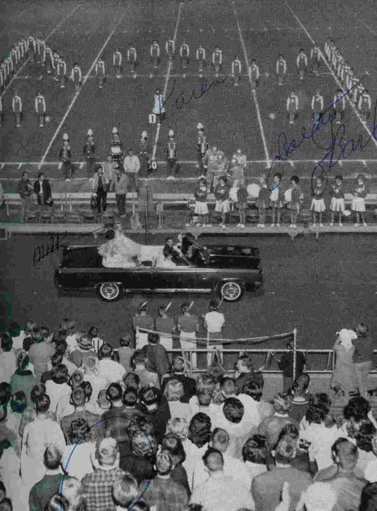 Huyck Stadium - From the 1963-1965 Lompoc High School yearbook, submitted by Karen Paaske of the Lompoc Valley Historical Society.